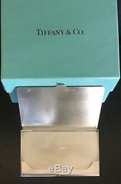Tiffany & Co. Sterling Silver Business or Credit Card Holder Case