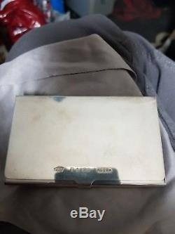 Tiffany & Co T & Co solid 925 Silver stamped 1837 Business Card holder