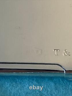 Tiffany & Co. Vintage BUSINESS CARD HOLDER STERLING SILVER 925 Unengraved Clean