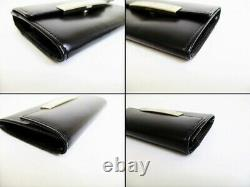 Unused Cartier LOVE LOVE collection calf leather business card holder car 110