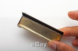 Vintage 1930s Business Card 14k Yellow Gold HOLDER Box RARE 35g