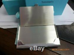 Vintage Tiffany & Co. Sterling Silver Business Card Holder. 925 New Old Stock