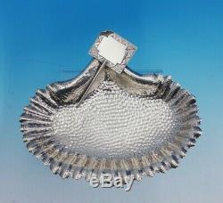 Wood and Hughes Sterling Silver Business Card Holder #137 Scalloped Shell #3503
