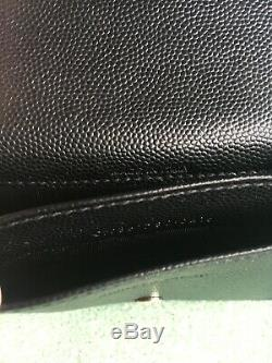 Yves Saint Laurent Card Holder, Business Card Case, Small Leather Wallet